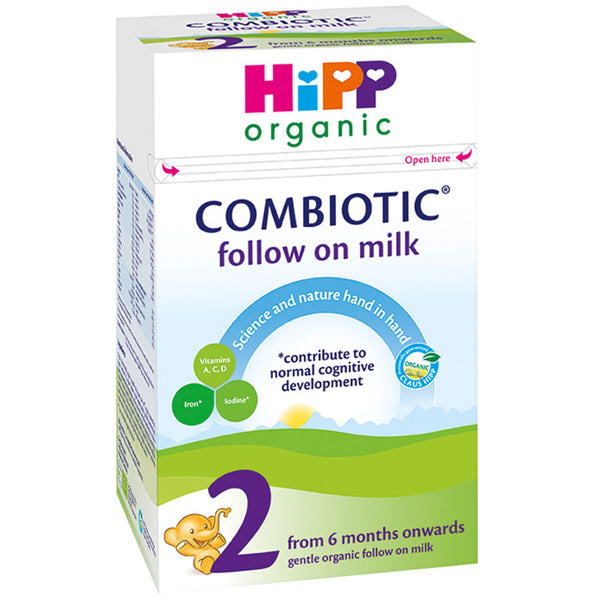 HiPP UK Stage 2 Organic Combiotic Follow-on Infant Milk Formula 800g - 6 Months+