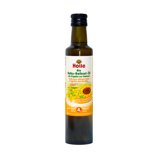 Holle Organic Baby Weaning Oil 250ml - 4 Months+
