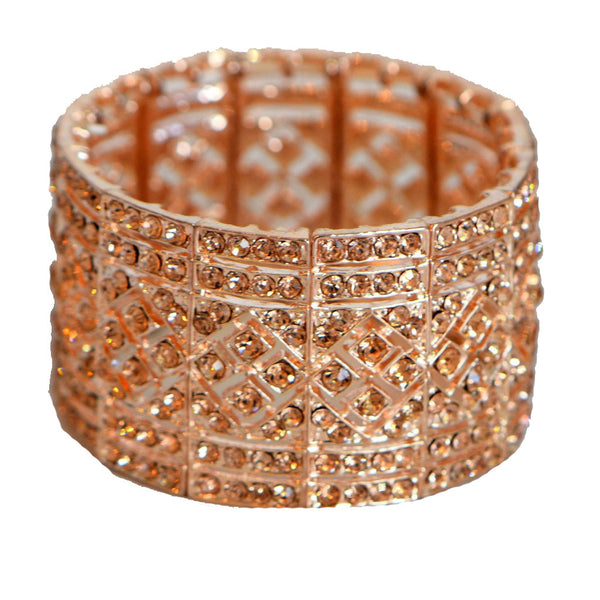 Heftsi Peach Color CZ Bracelets