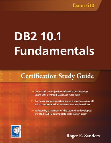 DB2 10.1 Fundamentals (Exam 610) Front Cover