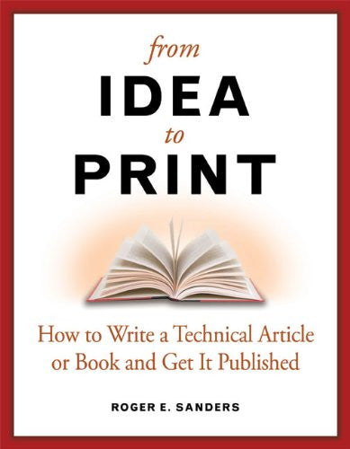 From Idea to Print Front Cover