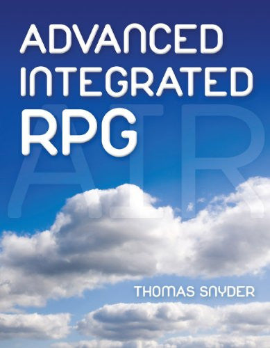 Advanced, Integrated RPG Front Cover