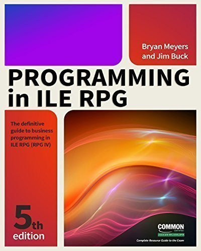 Programming in ILE RPG, Fifth Edition Front Cover