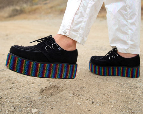 Black & Rainbow Wrap Creeper