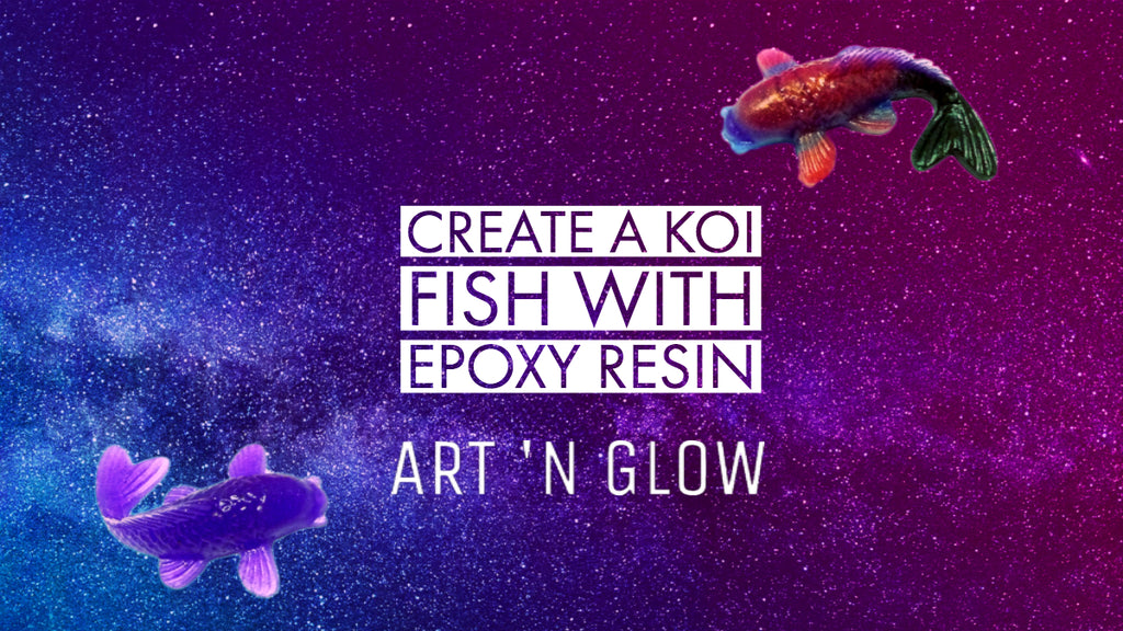 How to Create a Koi Fish with Epoxy Resin and Pearlescent Pigments