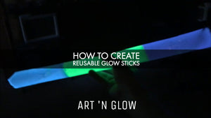 How to Create Reusable Glow Sticks