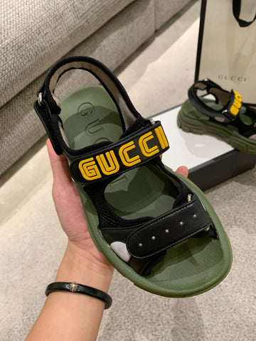 Сандалии Gucci 2019 черные | Gucci sandals 2019 black