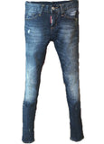 Джинсы Dsquared темно синие | Dsquared women's jeans dark blue