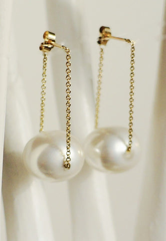 Gembuds Pearl Bud Earrings