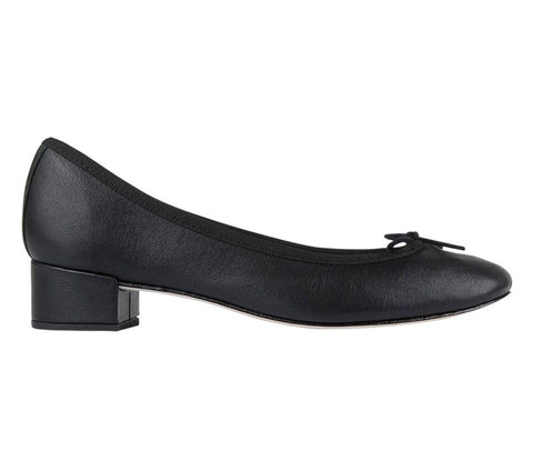 Camille Calf Leather Ballerina