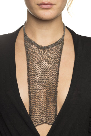 Aicha Mesh Chain Necklace