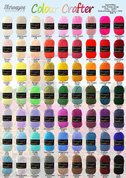 Scheepjes Colour Crafter 28 Leiden