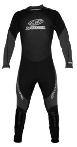 MENS WETSUIT 3/2 FULL BLACK/GREY - MICA ONLINE SALES  - 1