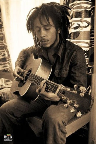 Bob Marley Sepia Regular Poster (61x91.5cm) - On the Wall Art Print Posters & Gifts