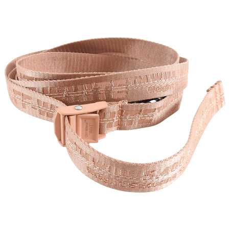 Off-White Virgil Abloh Blush Pink Industrial Wrap Belt