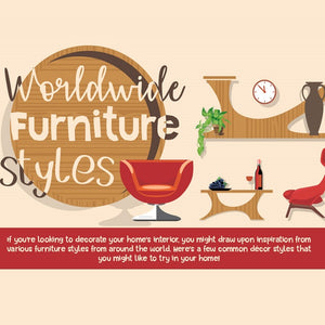 Worldwide Furniture Styles (Infographic)