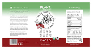 Vegan - Raw Cacao Plant Protein