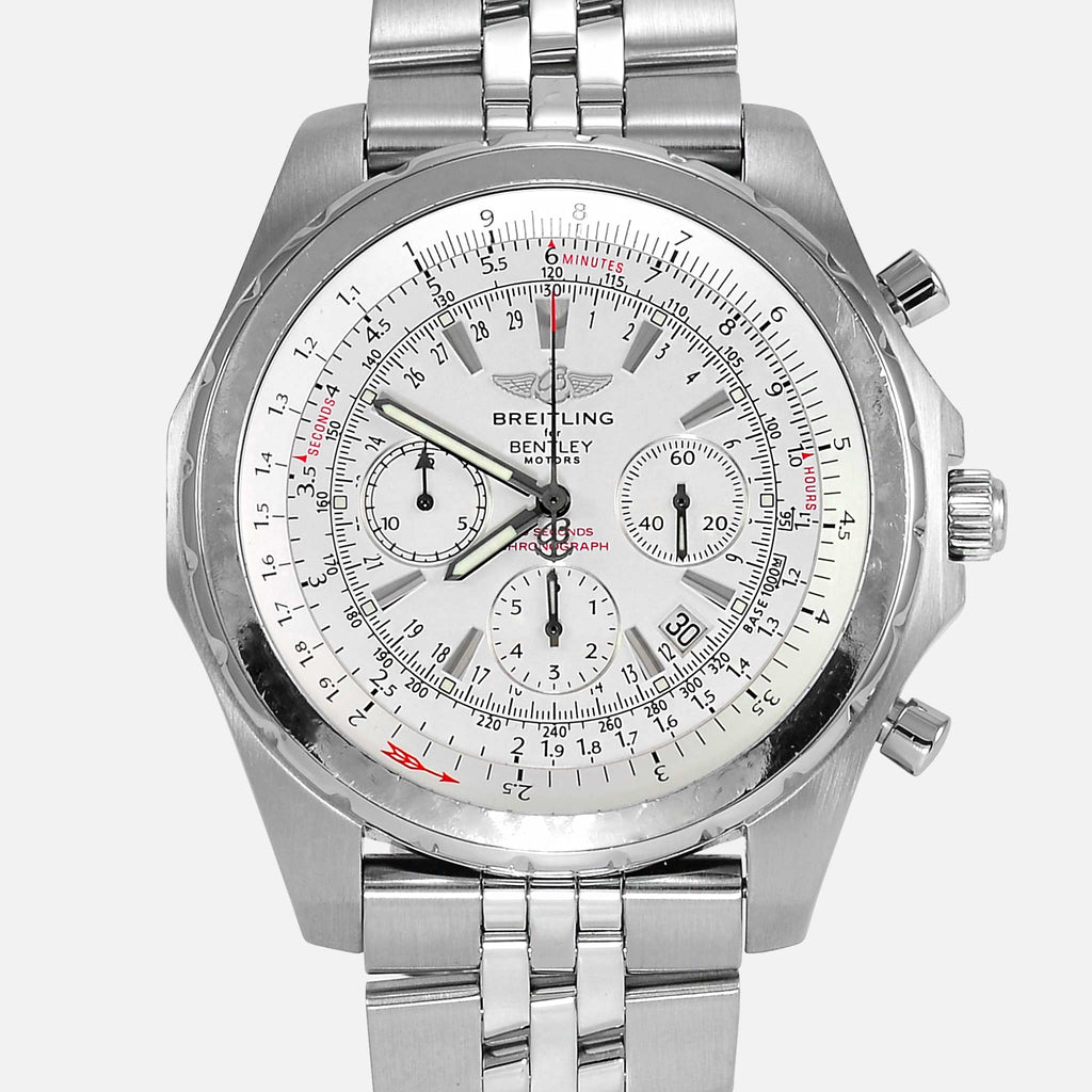Breitling For Bentley Motors T Edition White Dial A25363 - NeoFashionStore