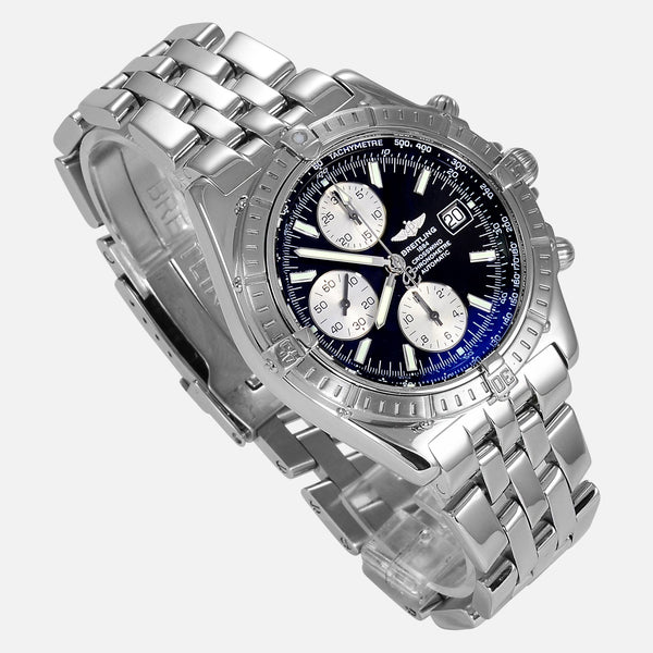 Breitling Crosswind Racing Stainless Steel A13355 - NeoFashionStore
