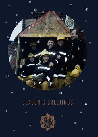 Christmas Cards - Pack of 10 - Seasons greetings from the Picket Line!