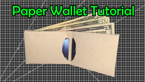 How to Make a Slim Paper Wallet at Home