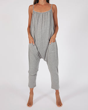 cotton jersey jumpsuit