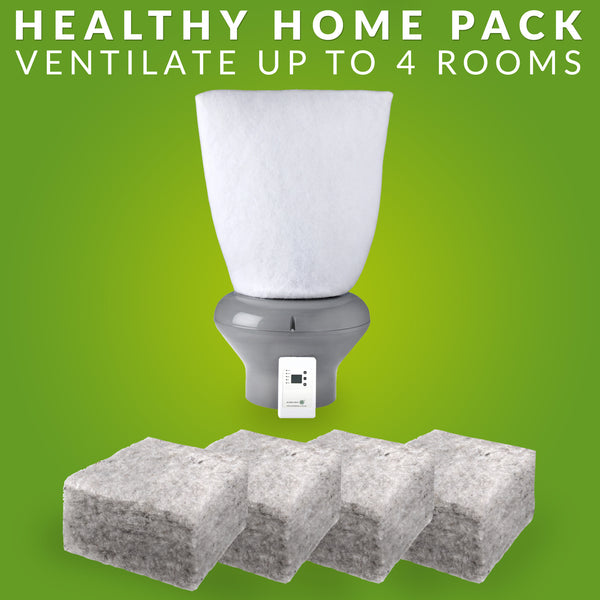 Healthy Home Pack R 3.2 Realwool & Supervent™ 108m²-Home Pack-supercellnz