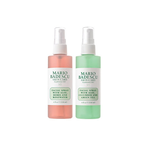 Mario Badescu - Rose Water And Green Tea Facial Spray Duo - 118ml