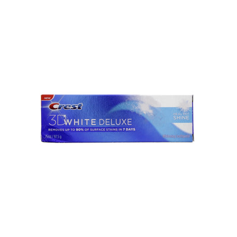 Crest 3D White Deluxe Tooth Paste - Healthy Shine 75ml