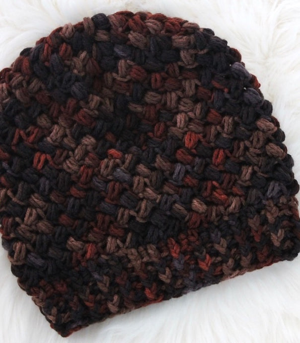 crochet pattern slouchy hat