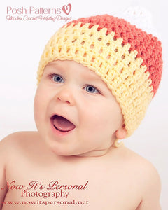 candy corn hat pattern