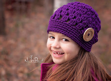 Load image into Gallery viewer, kids crochet hat pattern