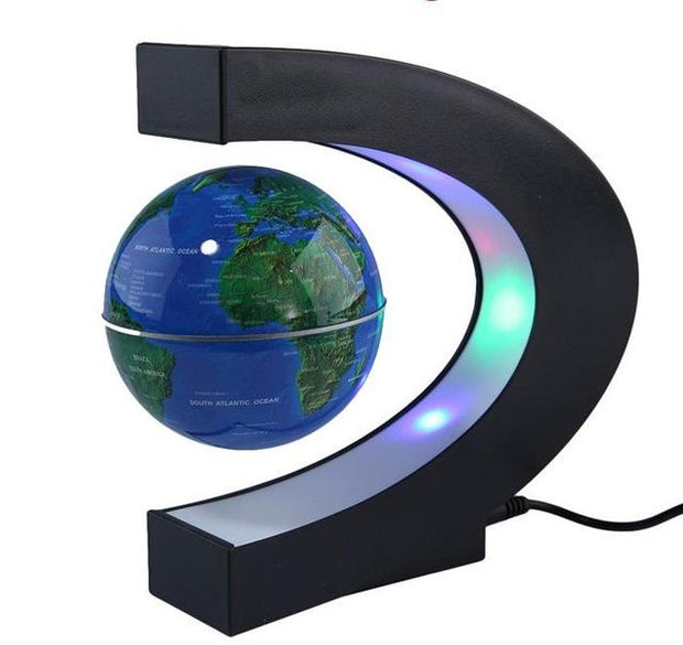 ZERO GRAVITY FLOATING GLOBE