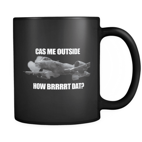 CAS Me Outside Mug BLACK