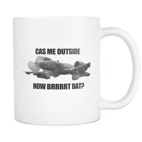 CAS Me Outside Mug WHITE