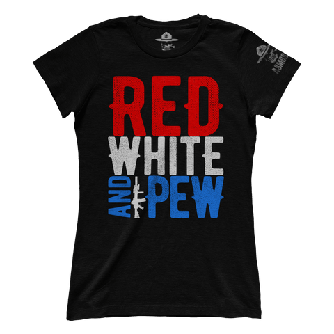Red White And Pew (Ladies)