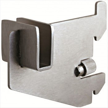 "3"" Rectangular Hangrail bracket - StoreFixtureShowcase.com"