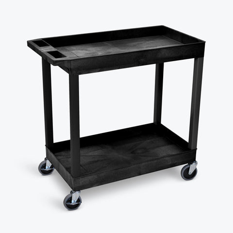 "32"" x 18"" Tub Cart with  Two Shelves ---- EC11-B"