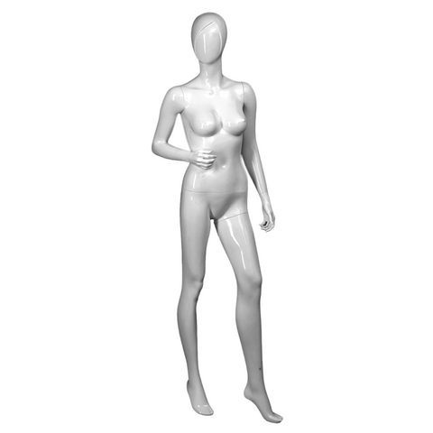 Female mannequin with right arm bent SAMANTHA/2
