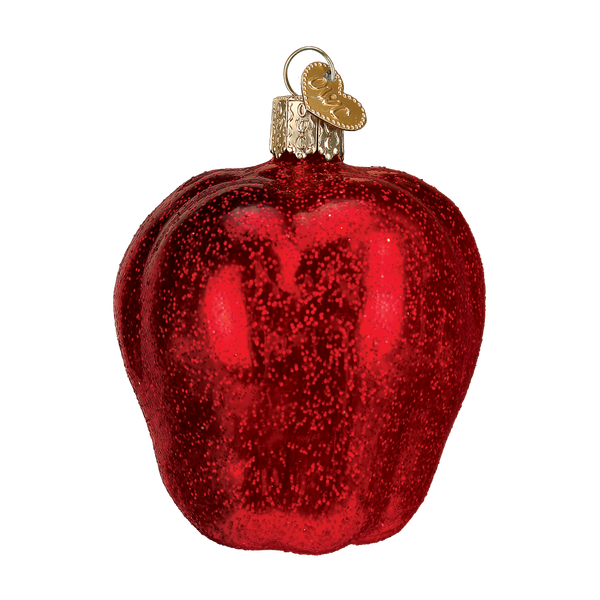 Old World Christmas Red Delicious Apple Ornament