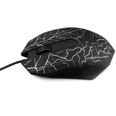 TrendCabin Black Lightning LED Gaming Mouse