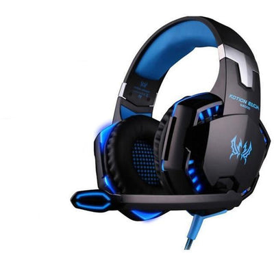 TrendCabin Blue G-2K LED Gaming Headset