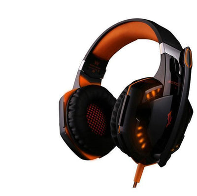 TrendCabin Orange G-2K LED Gaming Headset