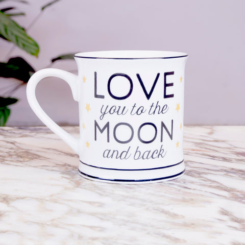 LUNA - Taza love you to the moon and back