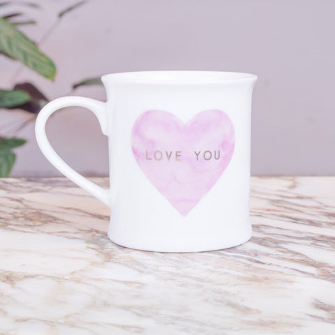 LOVE - Taza love you