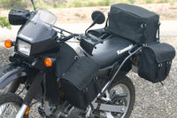 Motorcycle Panniers, Supports and Top Bag