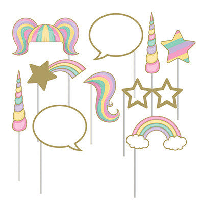 Unicorn Sparkle - Photo Booth Accessories-