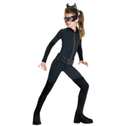 Kids Catwoman Jumpsuit Costume