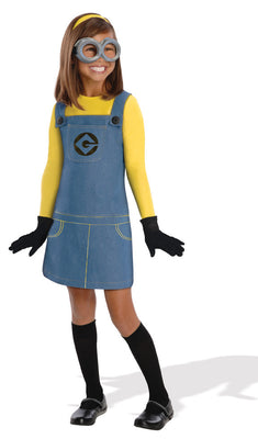 Kid's Girl Minion Costume