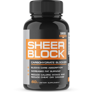 Sheer Strength Labs Weight Loss Sheer Block Extra Strength Carbohydrate Blocker